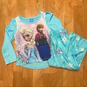 4/$20 - Toddler Girls Elsa & Anna Pajama Set